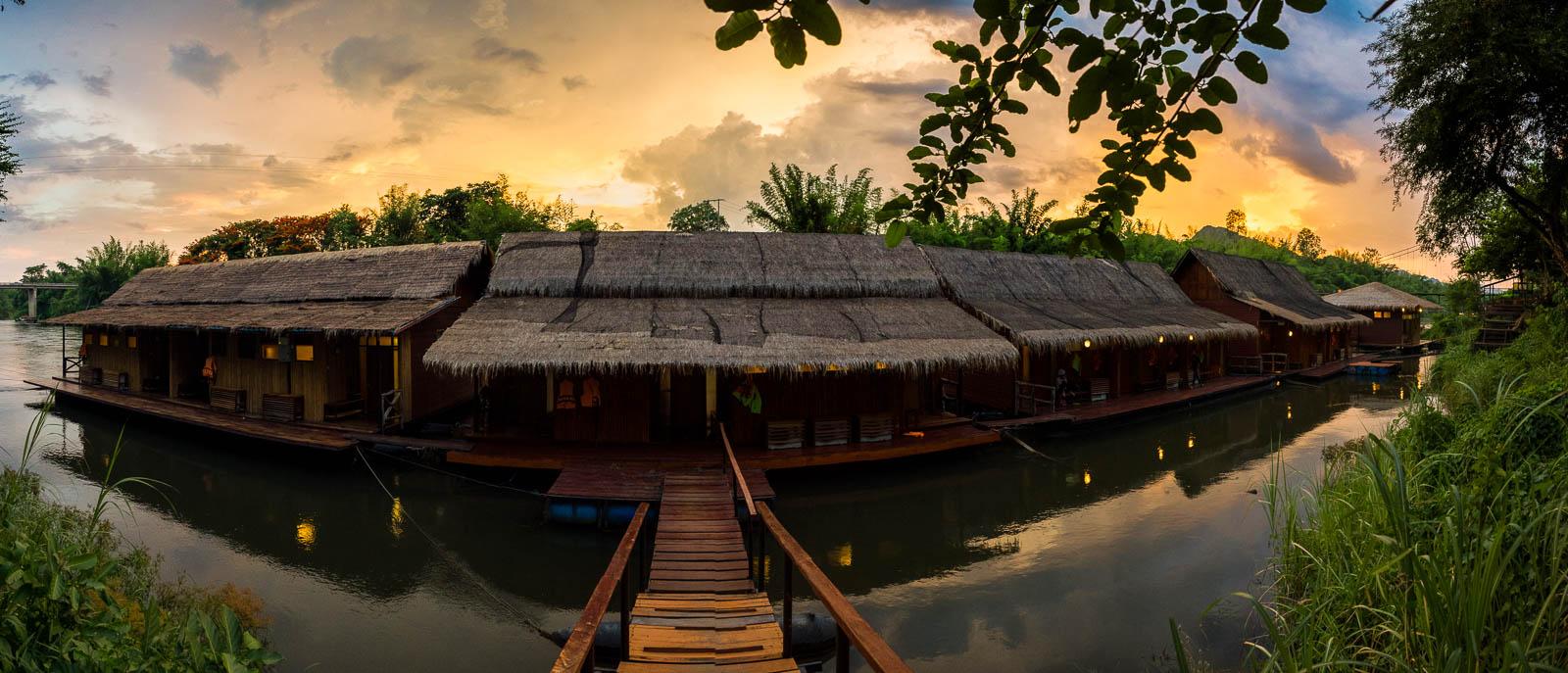 Houseboot on River Kwai